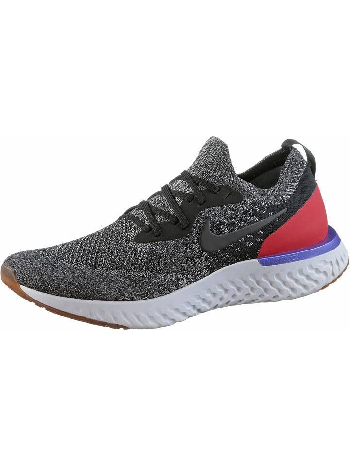Męskie Nike Czerń Buty Flyknit Epic Czerwony Biegania React Do qrr0Ot