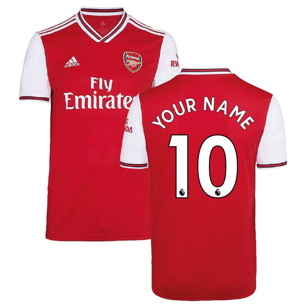 2019-2020 Arsenal Adidas Home Football Shirt (Your Name)