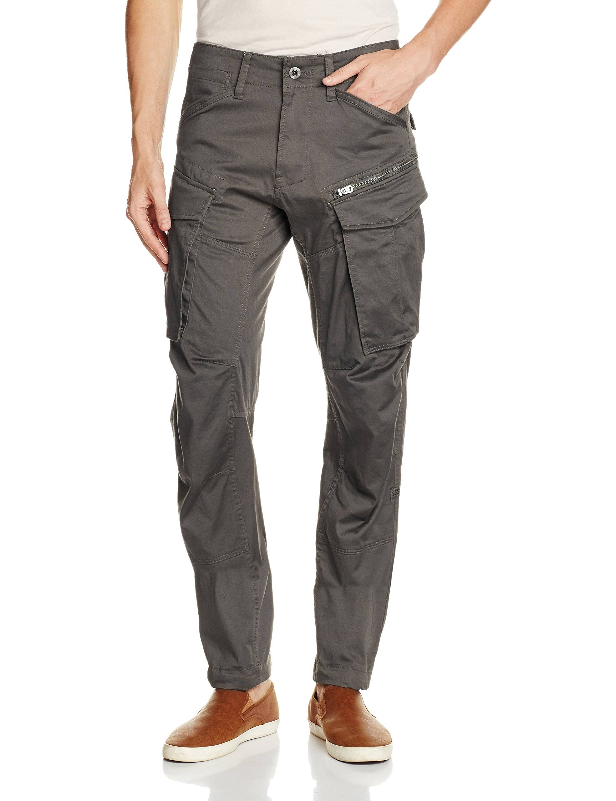 Raw Straight star Rovic Herren G Grey Zip 3d Tapered pTqw1U
