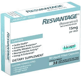 RESVANTAGE for Humans (30 Liquid Capsules)