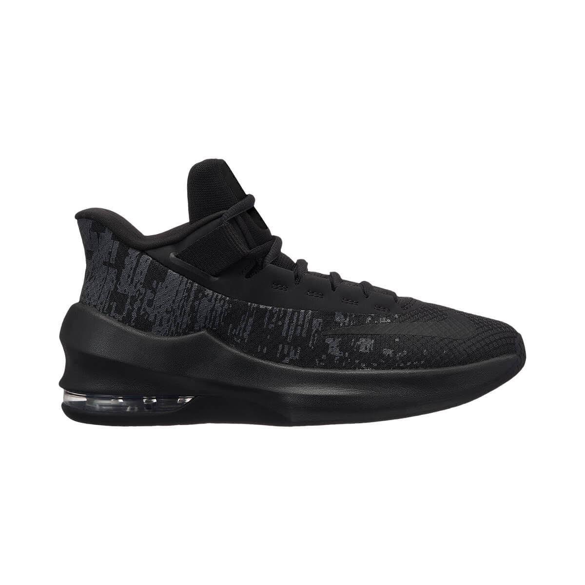 38½ 5 Air 2 Nike 38 Çocuk Siyah Max Ayakkabı Mid Infuriate Aqf8vfO