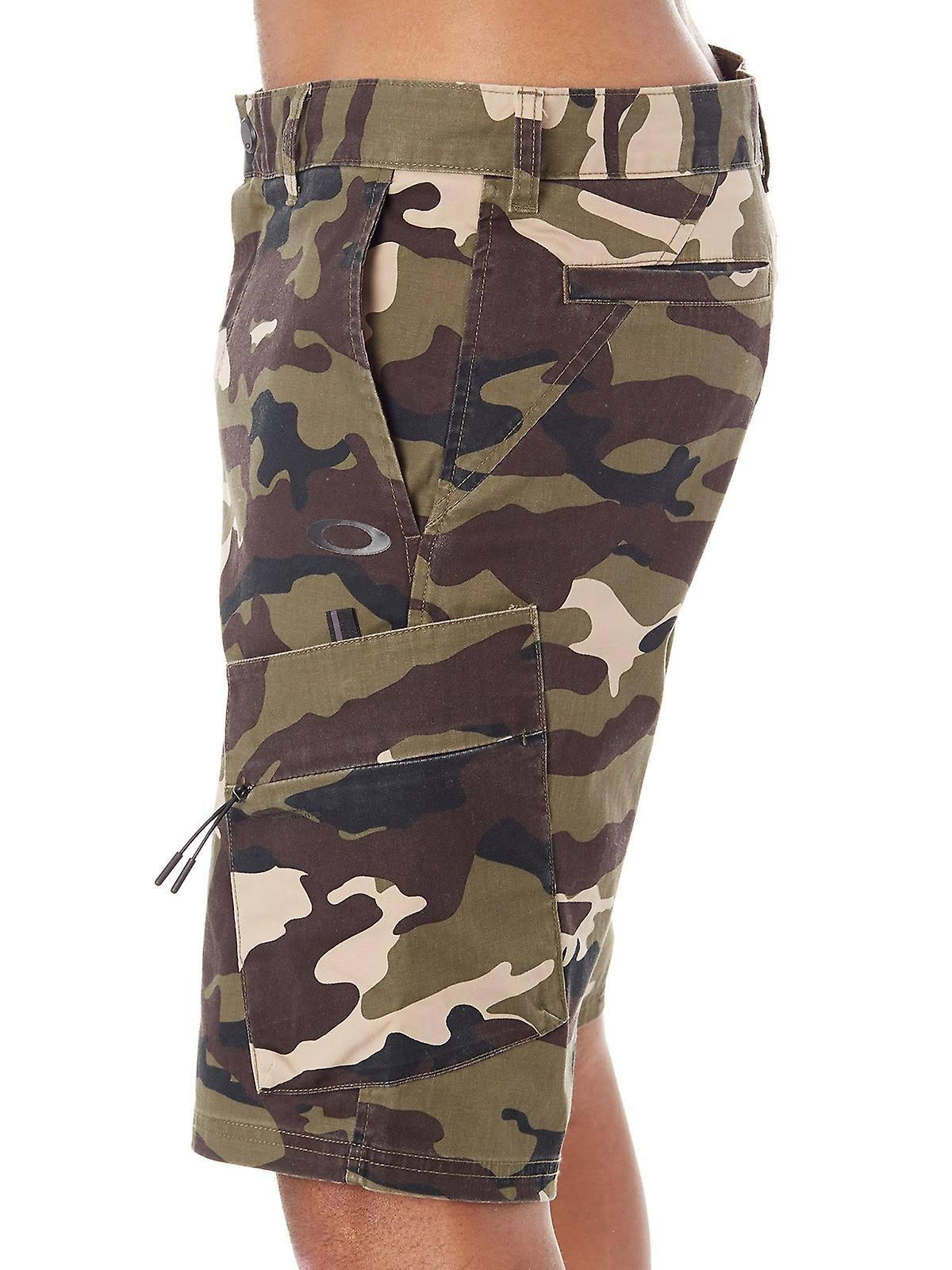 OAKLEY Cargo Short Core Camo 2018 - Shorts - 40 - Brown/Green