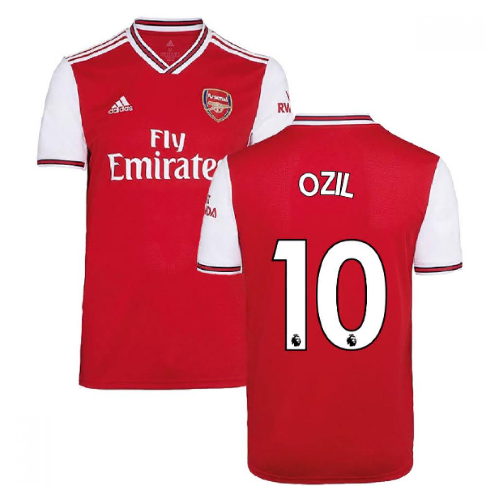 2019-2020 Arsenal Adidas Home Football Shirt (Ozil 10)