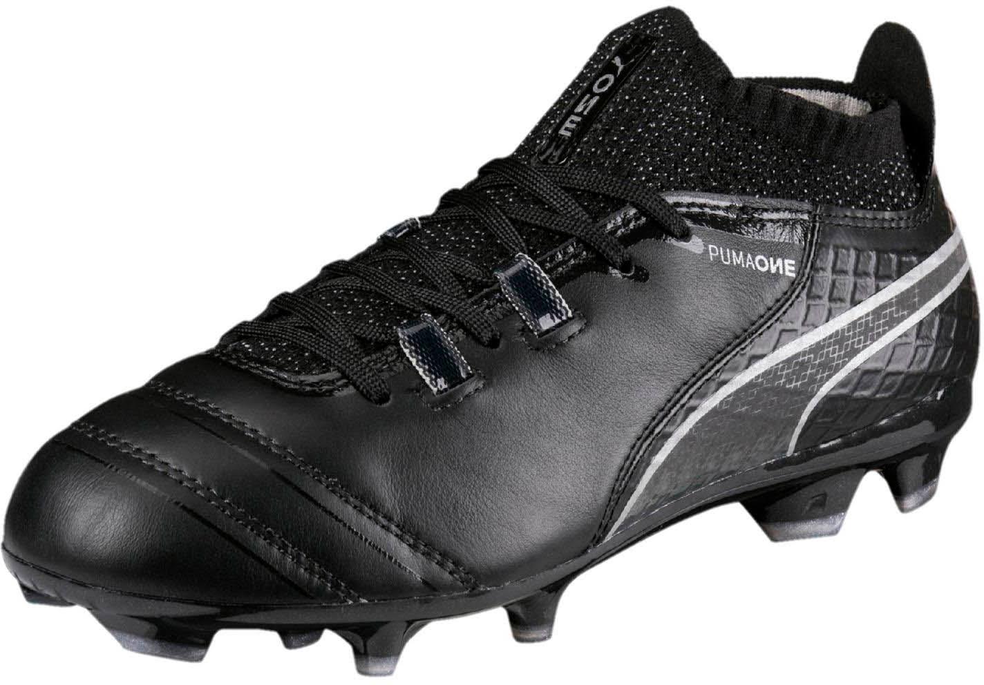 17 Silver puma Kids 1 Black Black Puma One Shoes Fg qEg6wvBZ