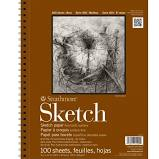 Strathmore 400 Series Sketch Pad, 100 Sheets 11x14""