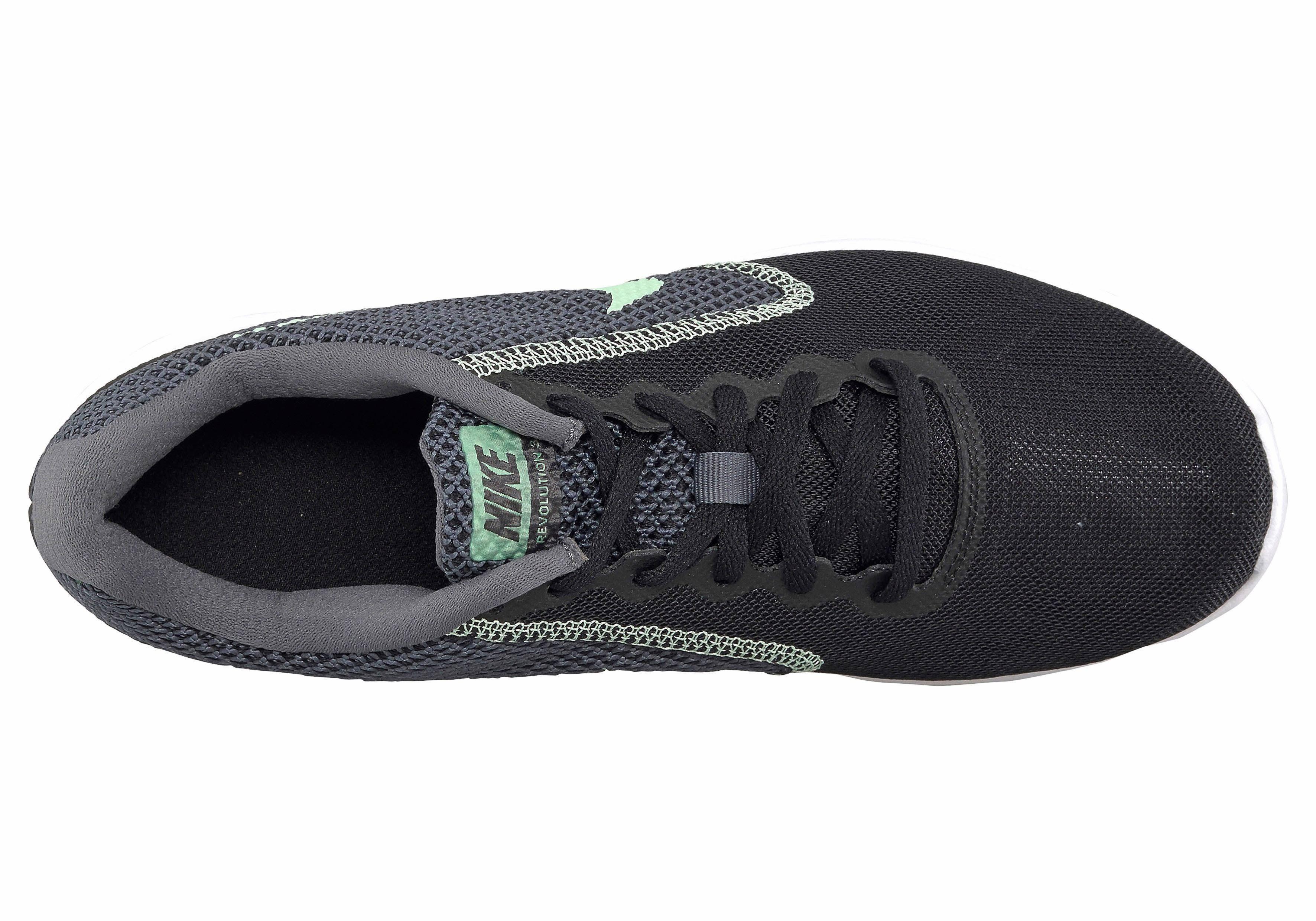 Nike voor donker dames Revolution grijs 3hardloopschoenen nwvN80Om