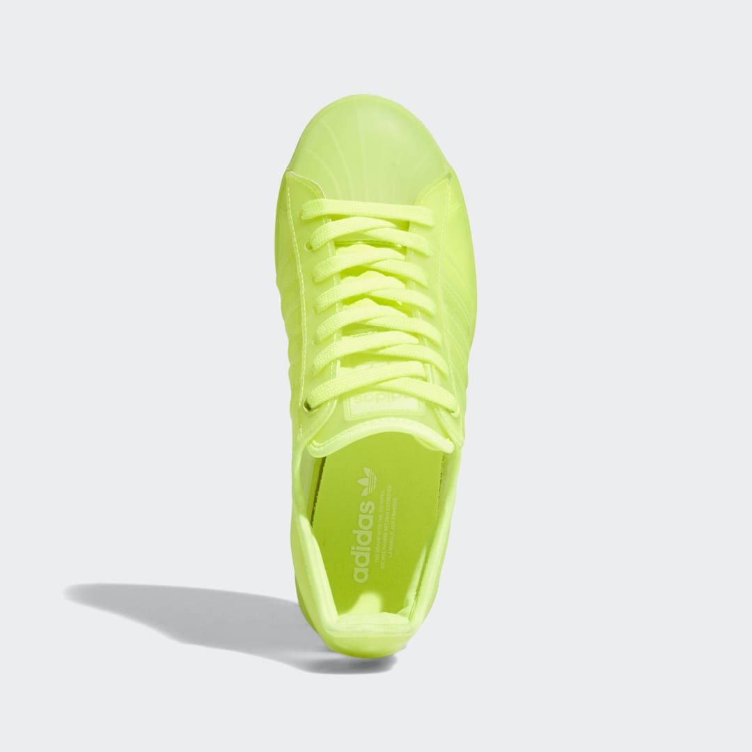Adidas Superstar Jelly Shoes - Womens - Yellow