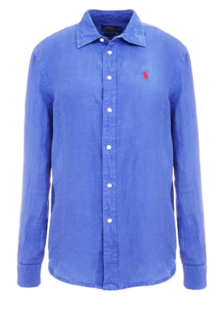 Soft Fade Xs Blusa Polo Buttondown Tamaño Mujeres Azul Lauren Ralph Oscuro Blue Maidstone XqvvxFE