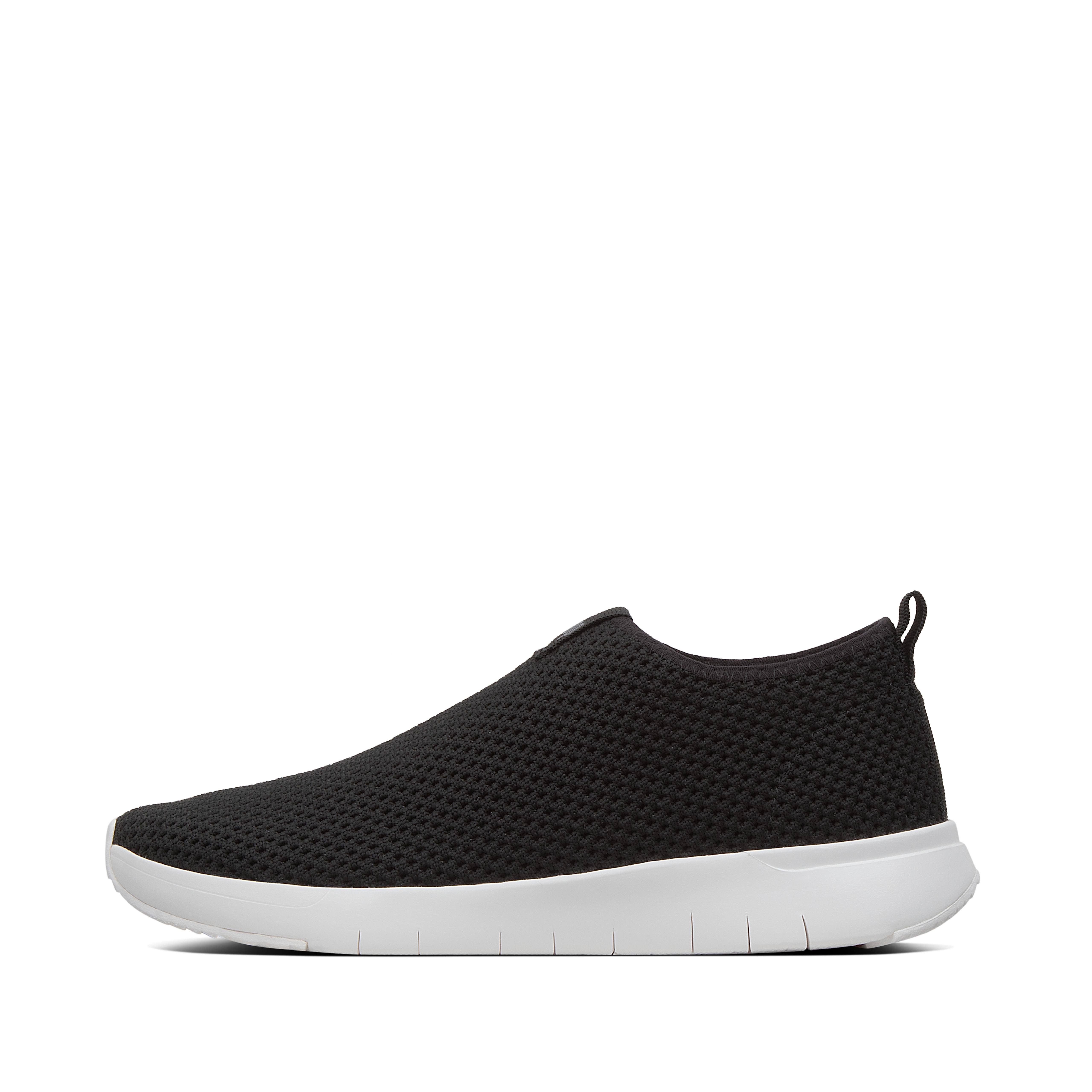 FitFlop Airmesh Slip-On Trainers, Black