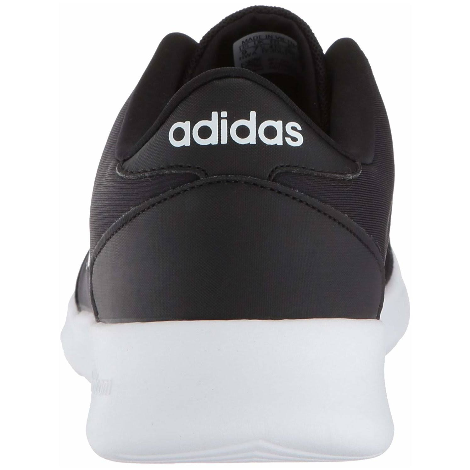 Qt Cloudfoam damessneakerszwartwit11 Cloudfoam Racer Adidas Adidas lFJ31cTK