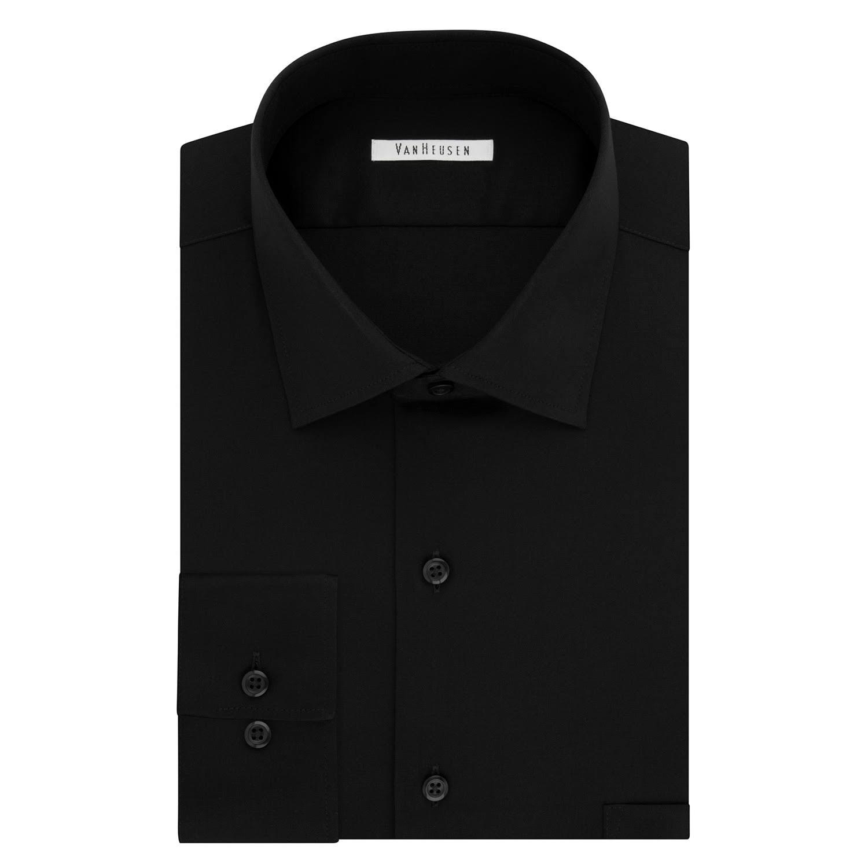 Schwarz Van Businesshemd Langarm Herren Heusen Tailliertes TwwS4aUq