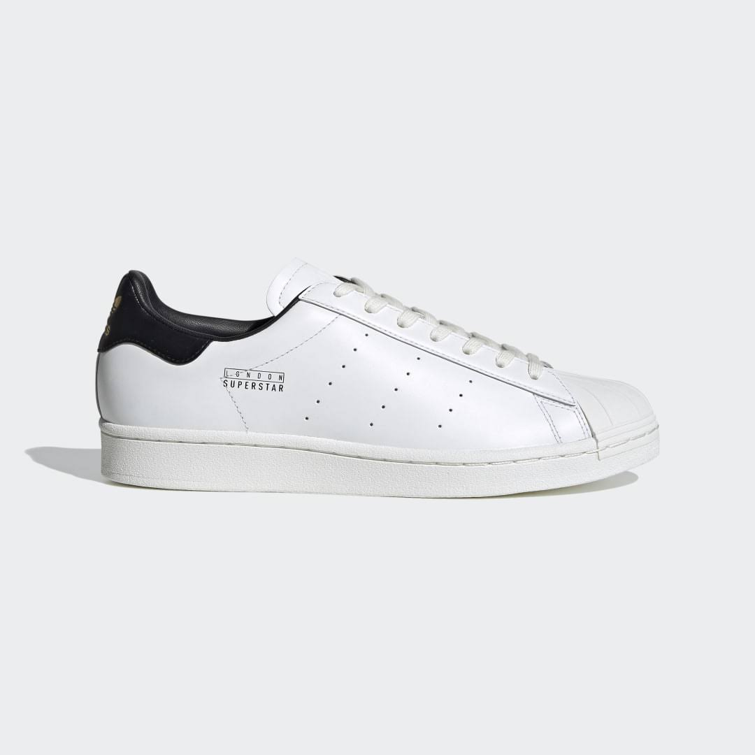 Adidas London Superstar Pure Trainers White