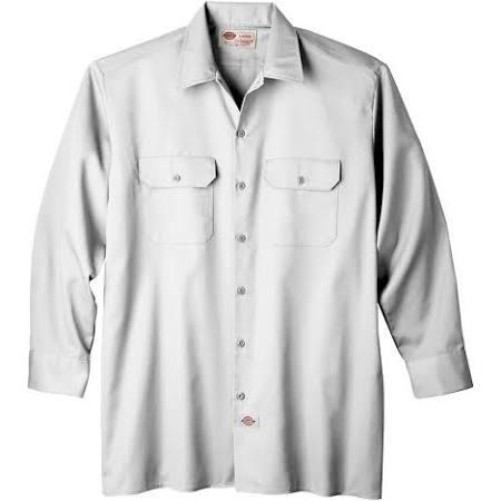 Trabajo Hombre Manga Estándar Dickies De Casual Para Camisa Larga 6wOZE7qnx