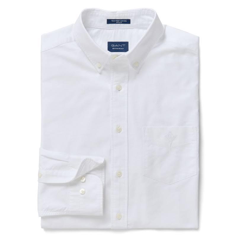 gt;ropa L Men's Gant Regular Accesorios Prep Tech Camisas Shirt Beacons Oxford Ropa White Y Project Size xxvqEwFg