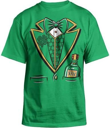 St T Paddys shirt Kostüm Day Erwachsene Smoking Kobold 6U6Fwq