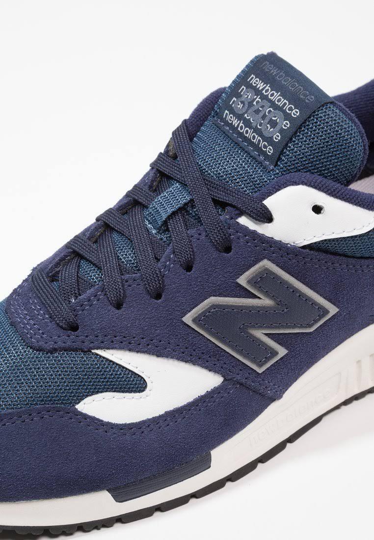 Basse Balance Ml840 E Scuro 38 New Pelle Tessuto Taglia 5 Sneakers Pigment Blu ZtdwnTgx