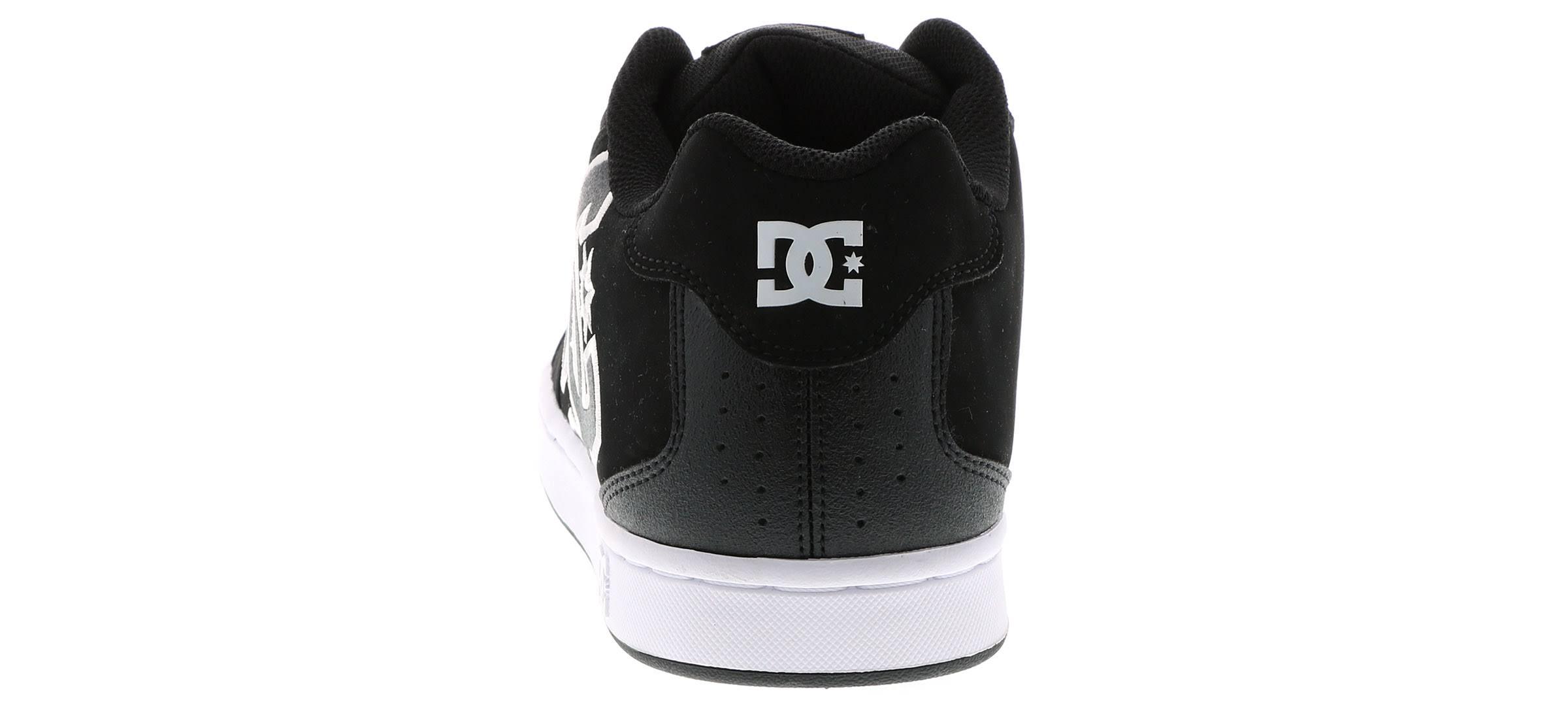 Black 8 Skate white Size Shoes 302361 Dc M Mens Net wqnXRxT8