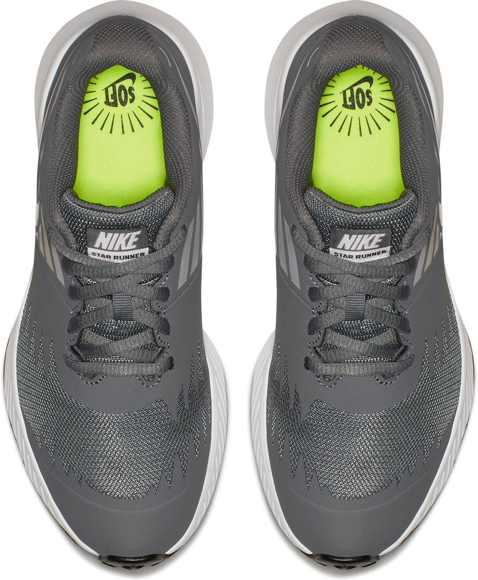 wolfgrey Grau U« »star Runner volt black Nike Bg Coolgrey Laufschuh gs weiß 36 xZ7BYAq