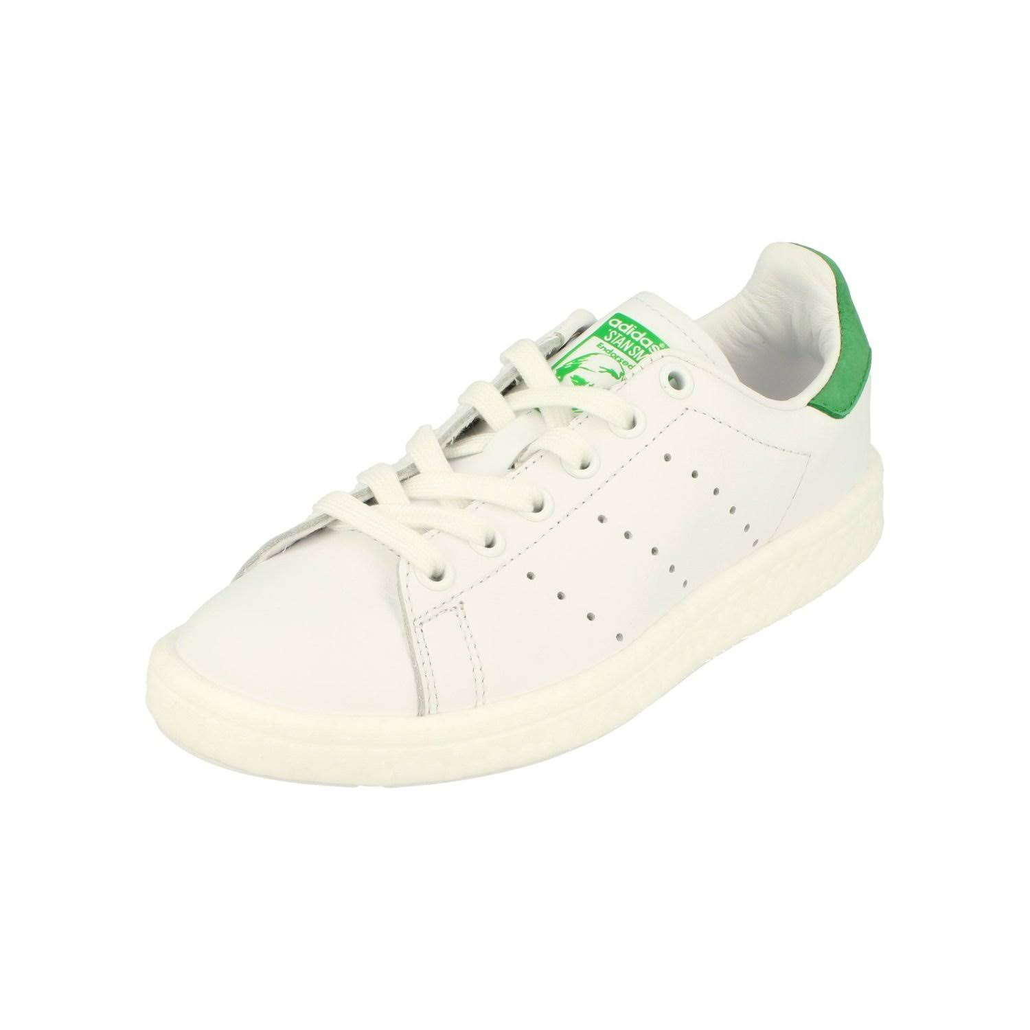 (4) Adidas Originals Stan Smith Boost Mens Running Trainers Sneakers