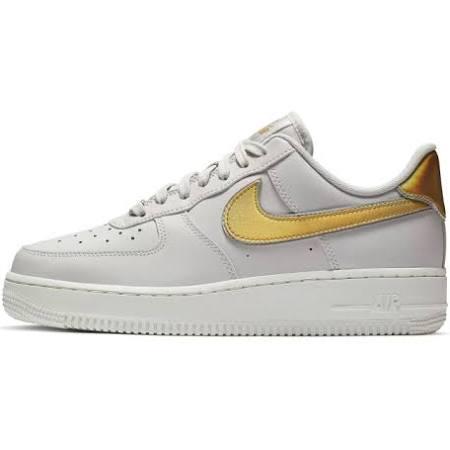 Kadın Nike Air Ayakkabı Sneaker 1 Gri '07 Ar0642 001 Force Metallic qOwqf