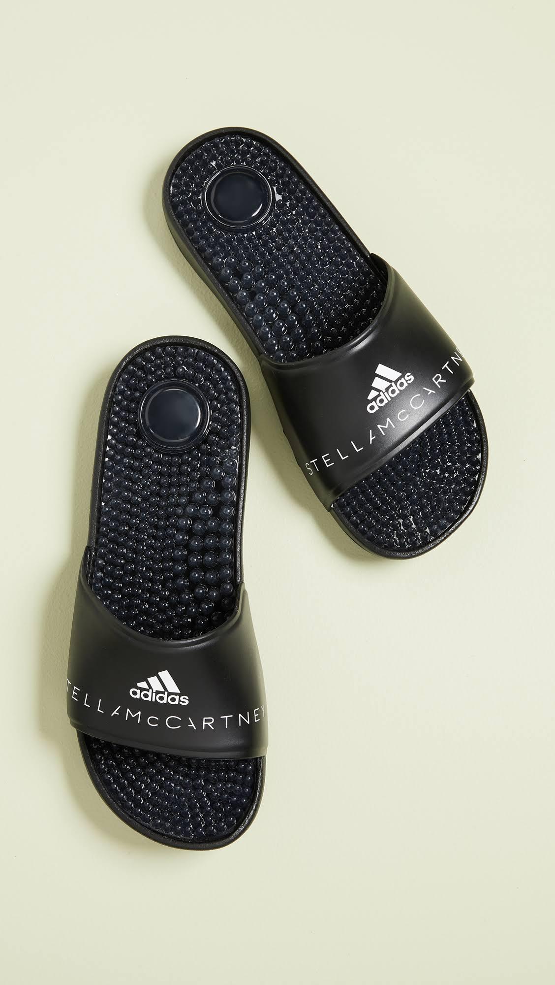 Stella Mccartney By White Black Slides W Adissage Adidas 9 1EqnxwA51