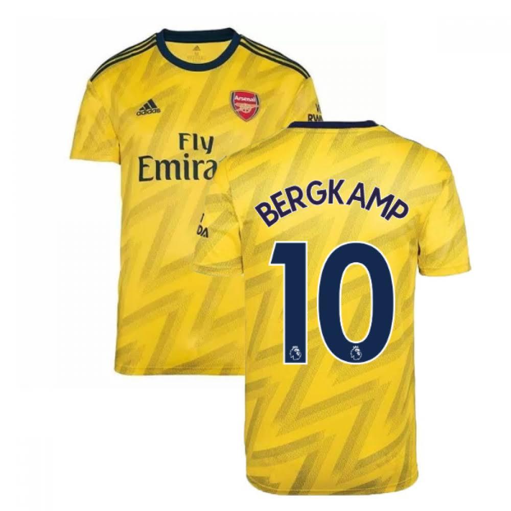 2019-2020 Arsenal Adidas Away Football Shirt (BERGKAMP 10)
