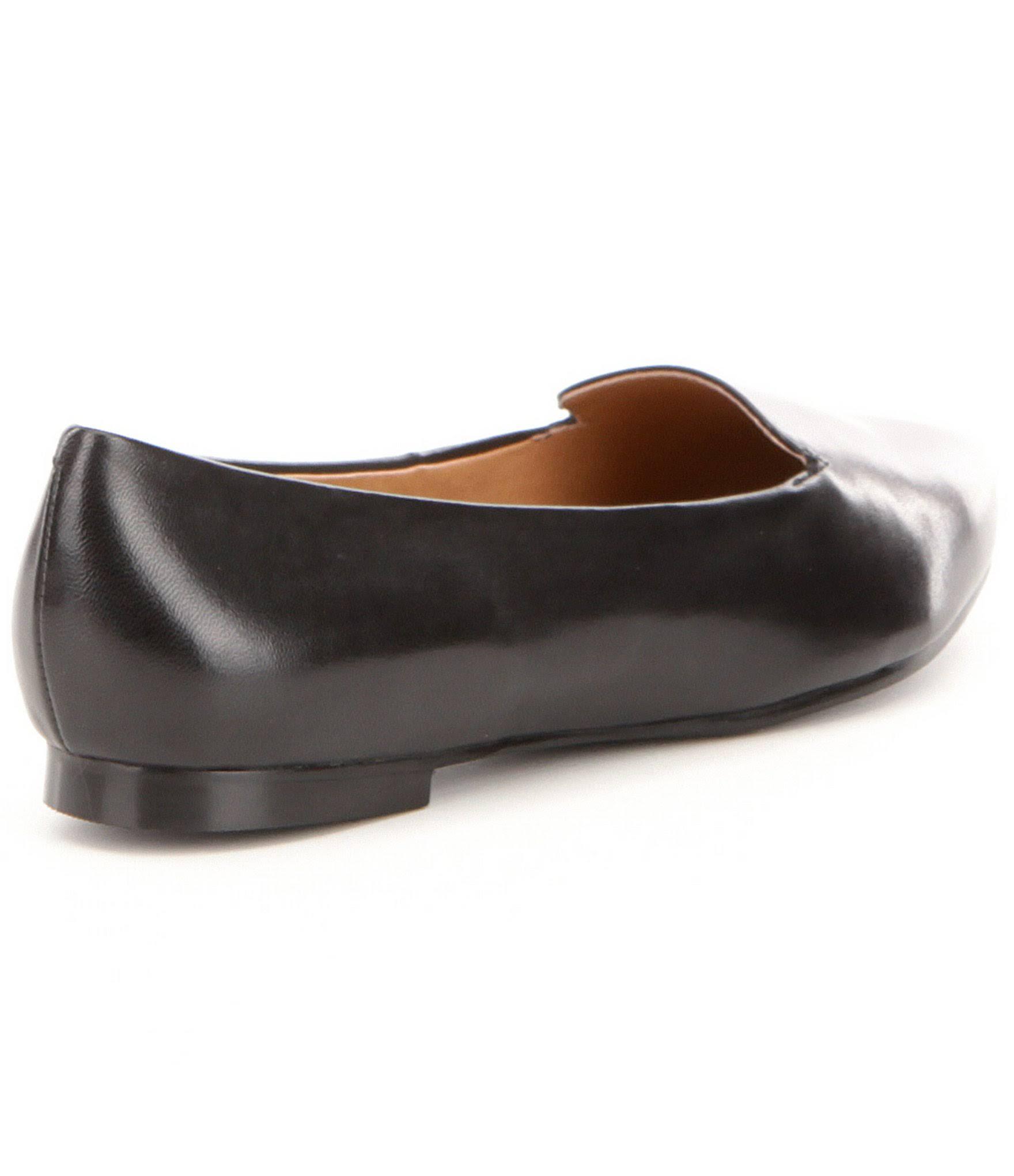 LoaferDames zwart LoaferDames Trotters leer Trotters Harlowe Harlowe zwart leer 80nOPwk