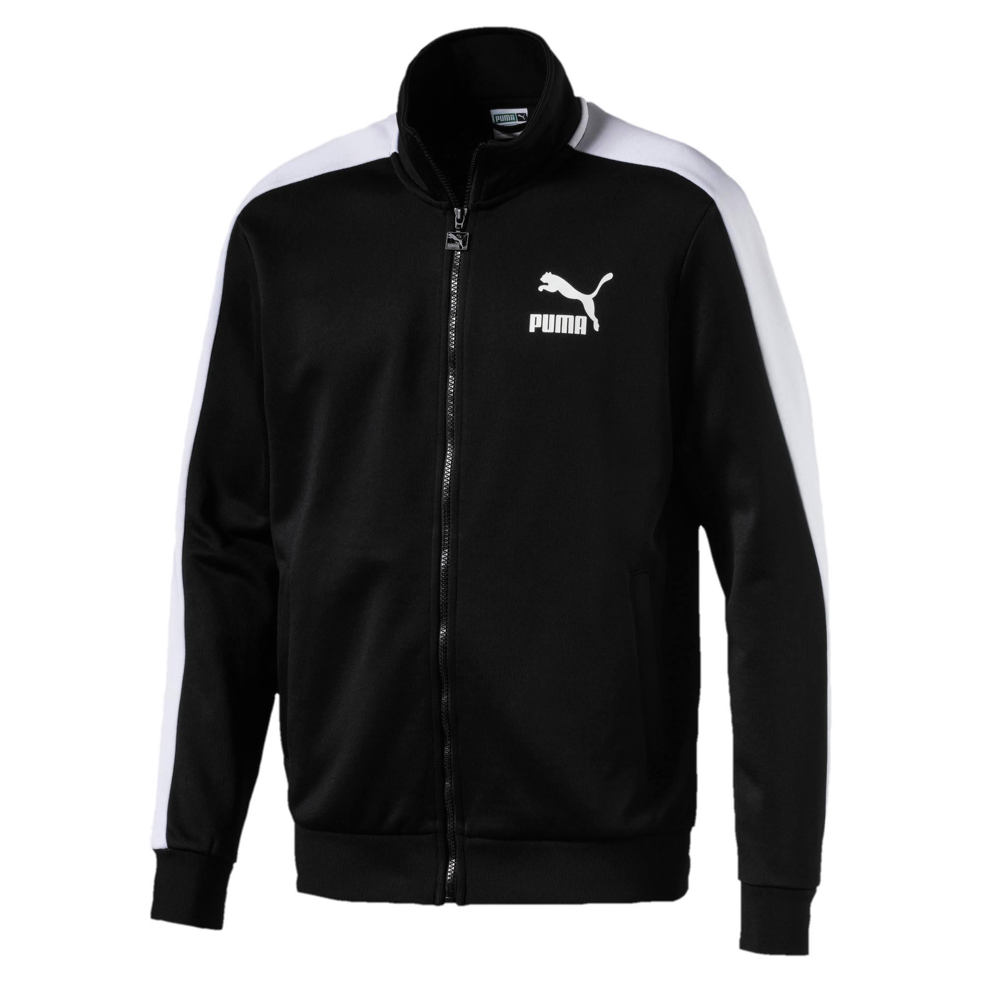 Pequeña Para T7 Chaqueta Deportiva Hombre Negra Talla Puma Classics I00Z1w