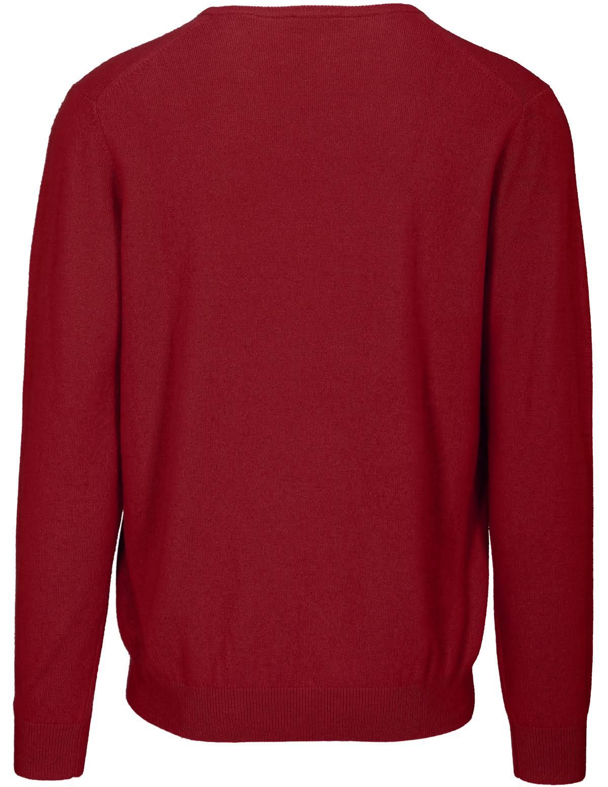 Rosso Dark Pullover Cashmere scurogrLMen's Commander Red zVUpLqSMG