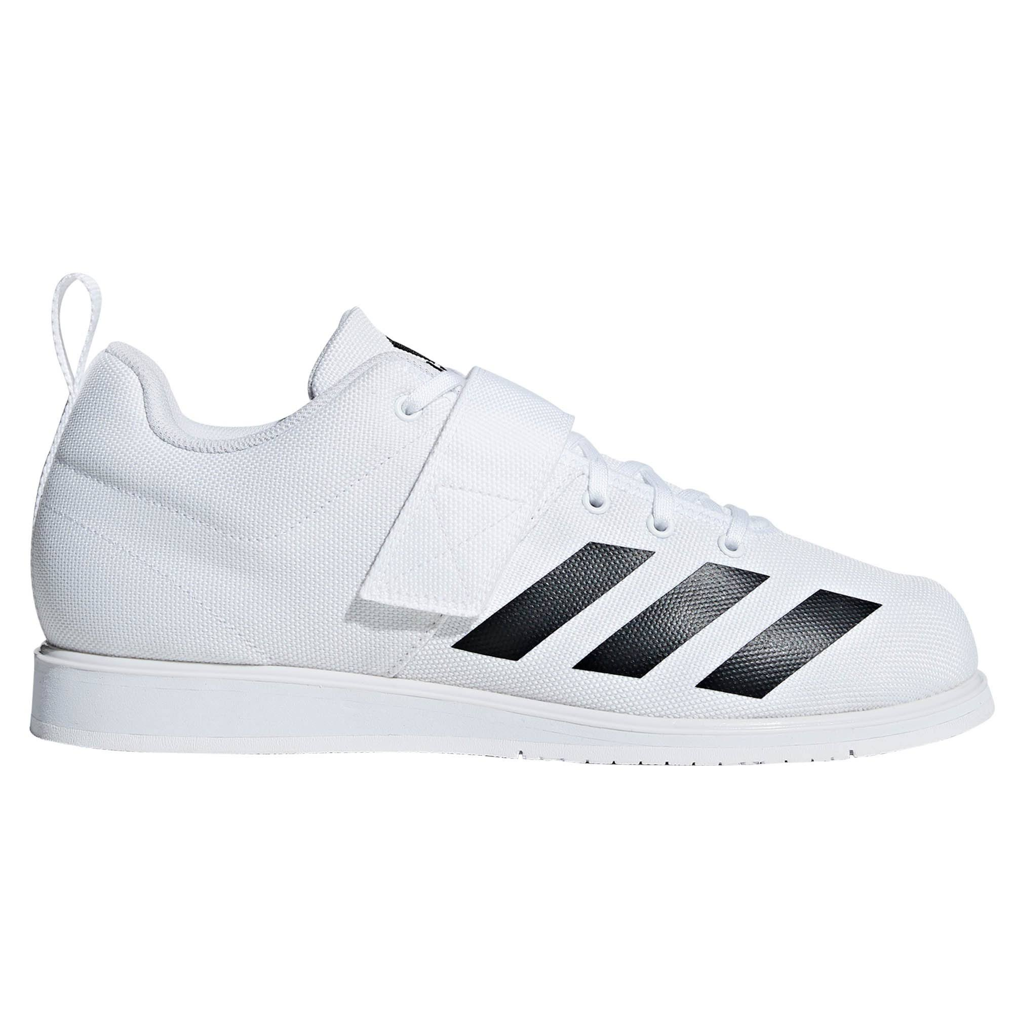 Adidas Powerlift 4 Weightlifting Shoes - White - 10
