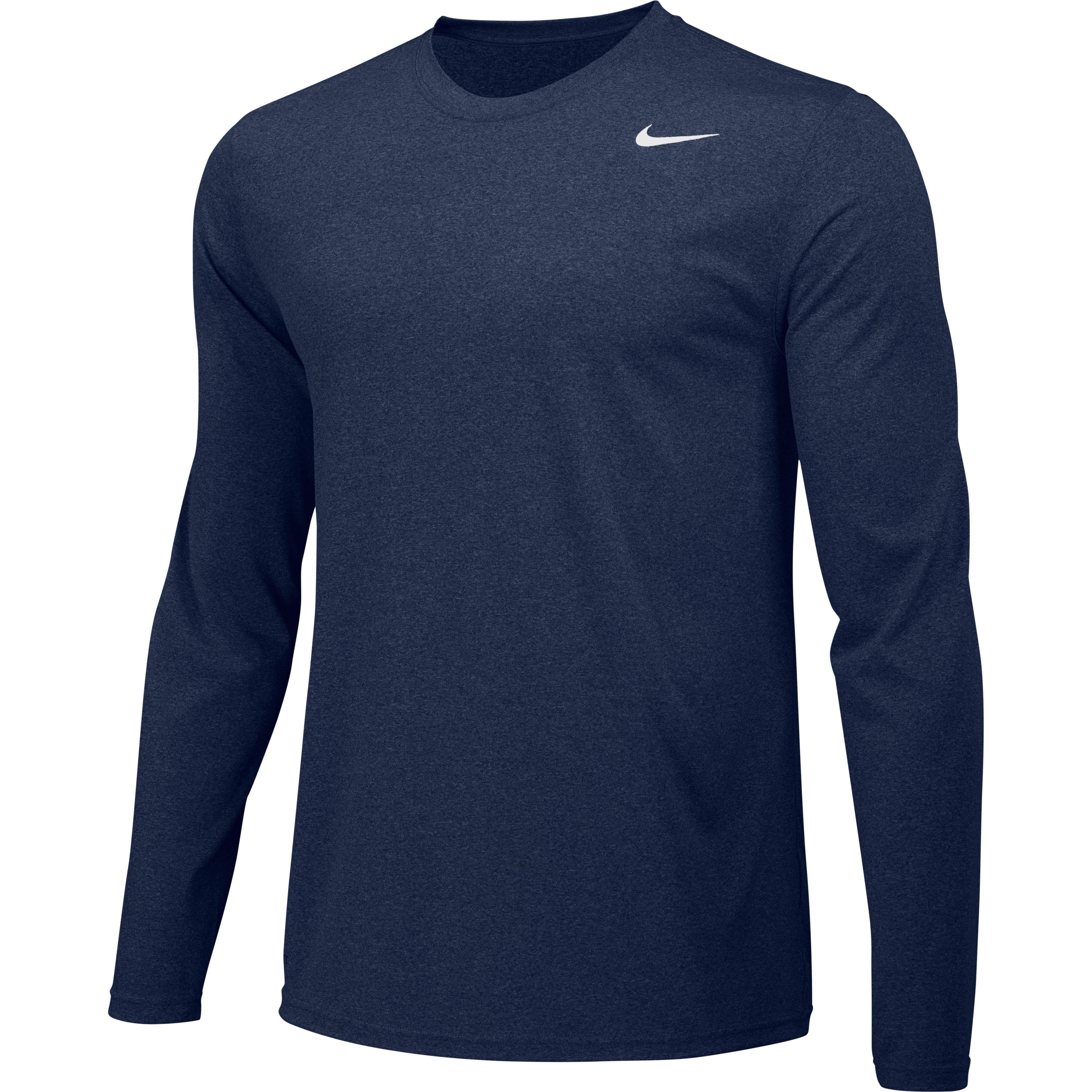 Larga Boy Nike De Pequeña Regular Manga Camiseta Marino Azul Legend Entrenamiento q6twnT1