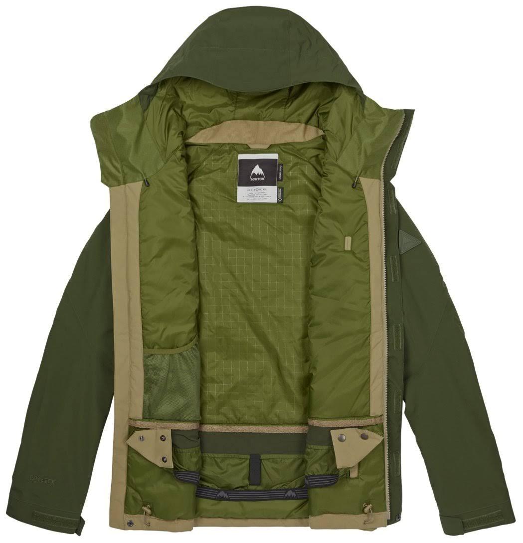 Radial Rifle tex Gore Verde Burton Para Chaqueta Kelp Medio Hombre dq40d