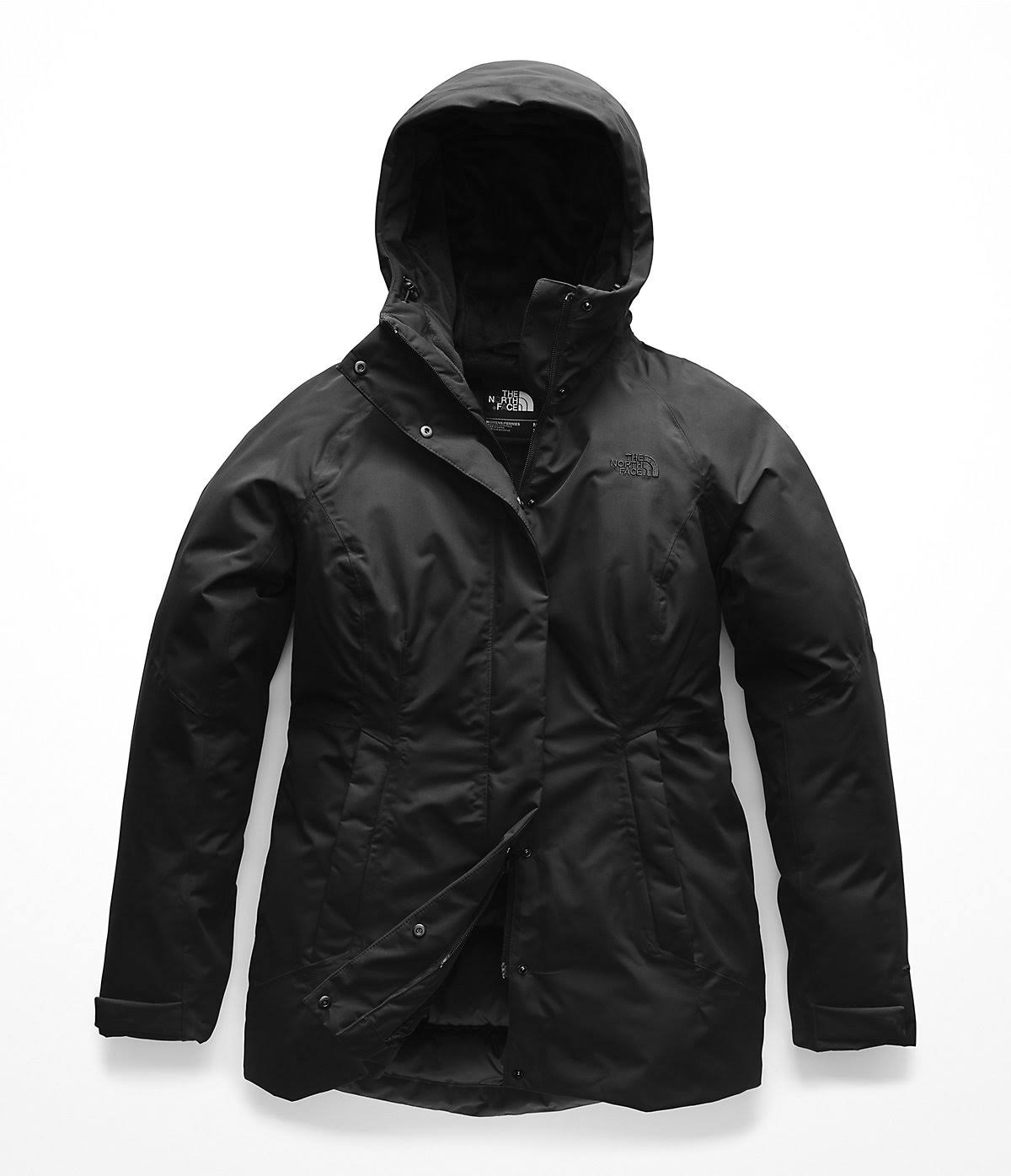 The Tnf Face Damen S Toastie Schwarz Parka North Coastie SrUBwxFSq
