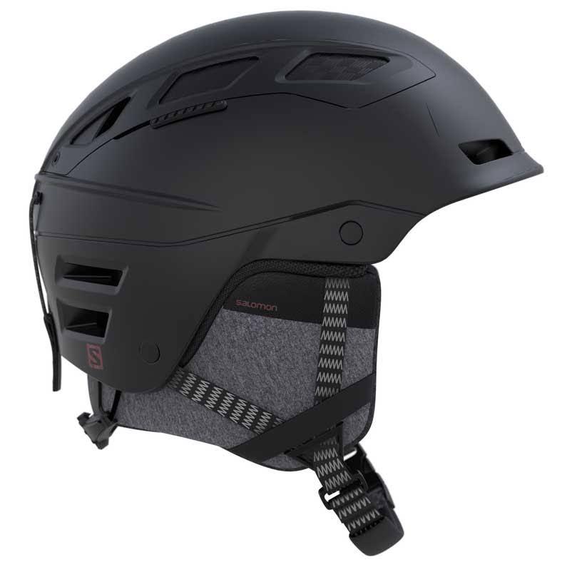 Qst Helmet Ski Salomon Black Charge wxRdqZA66X