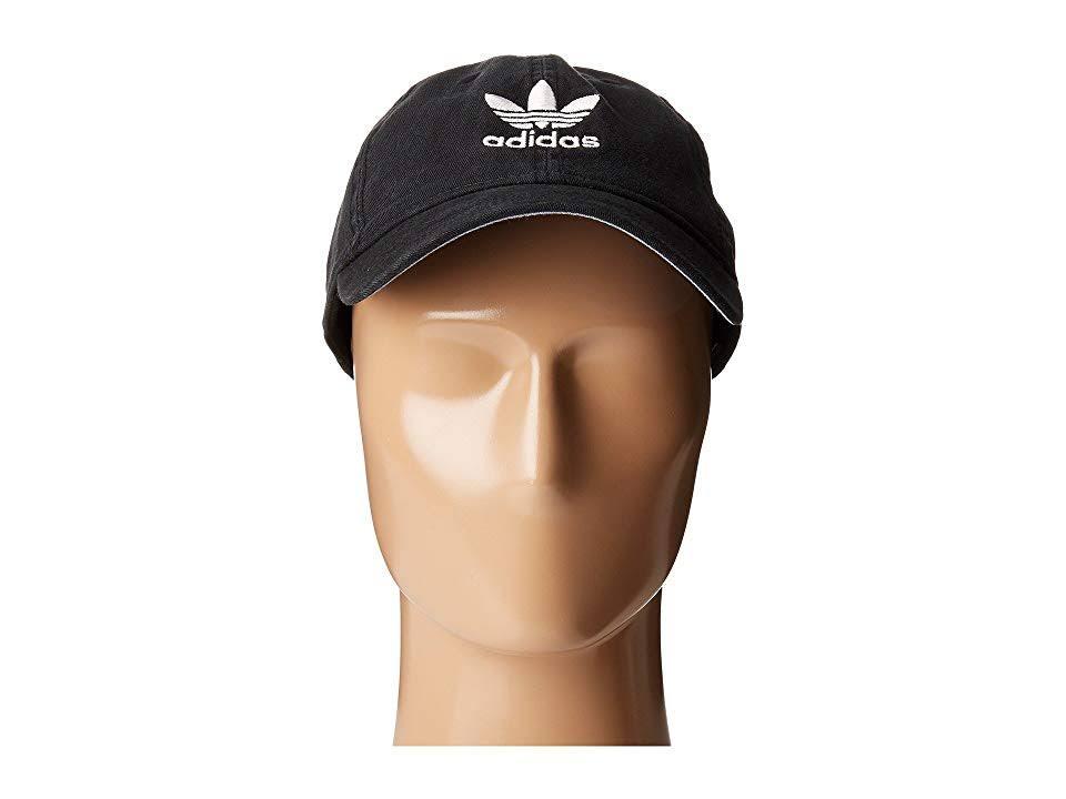Bh7137 Strapback one Schwarz Weiß Relaxed Hat Originals Größe black Adidas nUq0wPxXv