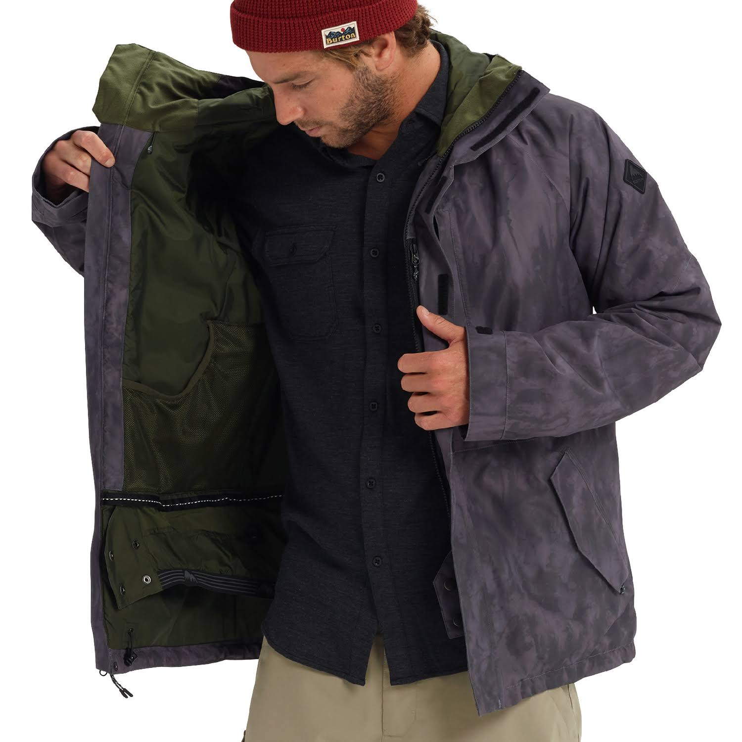 Cloud tex Shadows Medium Für Gore Burton Herren Radialjacke 507Yn7q