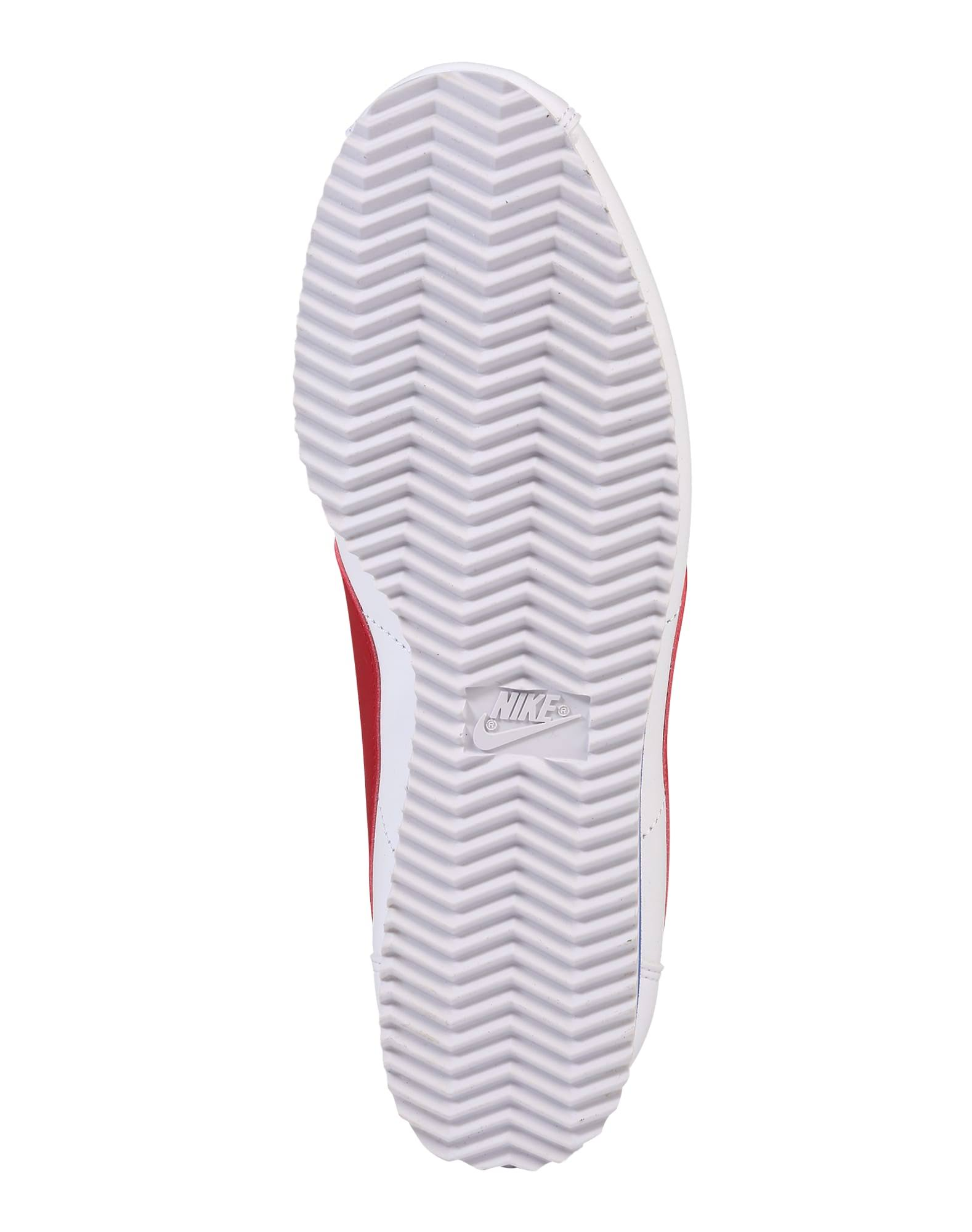 Nike rot blau Weiß Damen Classic Leather Blau Rot Weiß Schuhe Cortez wS6q1Bwr