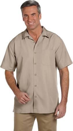 Para Texturada Camisa Harriton Del Barbados Campo Hombre De rYFw7qfY