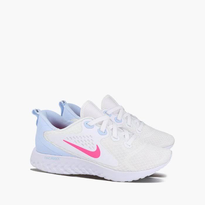 Nike Womens Legend React White Hyper Pink Half Blue Black  XbPudqw
