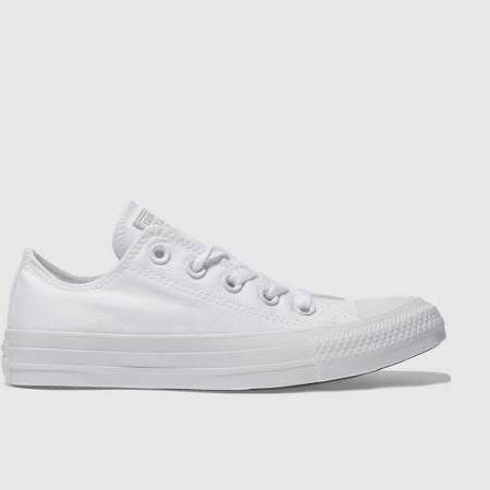 Chuck Sneaker Blanc 33 Weiss Weiß Converse Star Taylor Mono Canvas Mono Core All wUdCHYqx