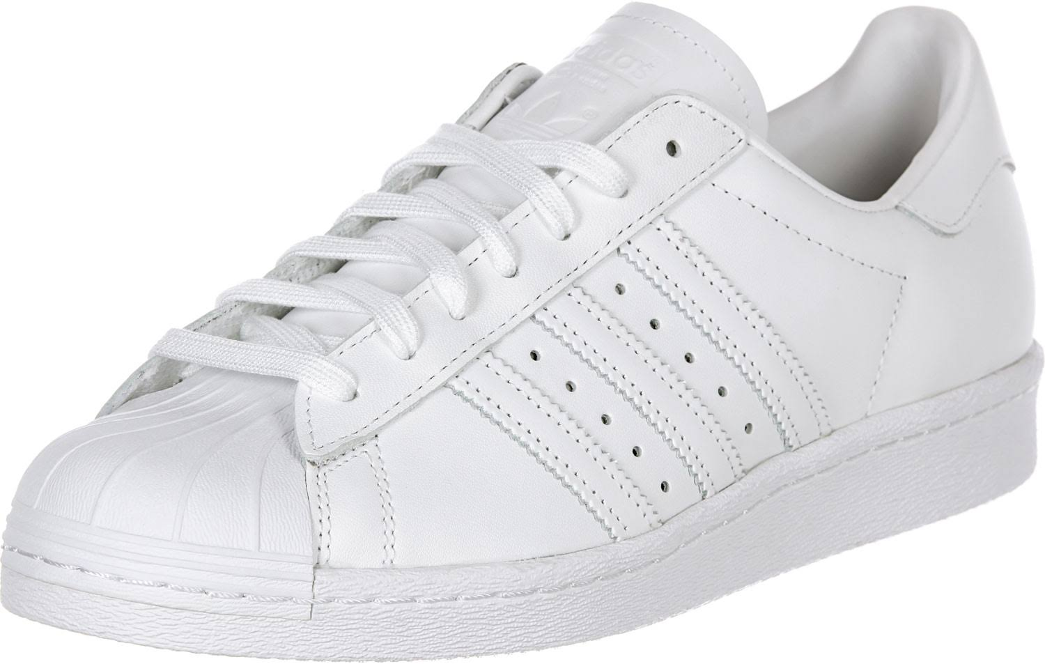 36 Leder White core Black footwear White Schuh '80s Superstar Black Elfenbein Adidas footwear Ixw0YY