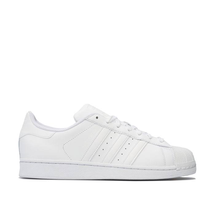 Adidas Originals Mens Superstar Foundation Trainers Size 12.5 in White