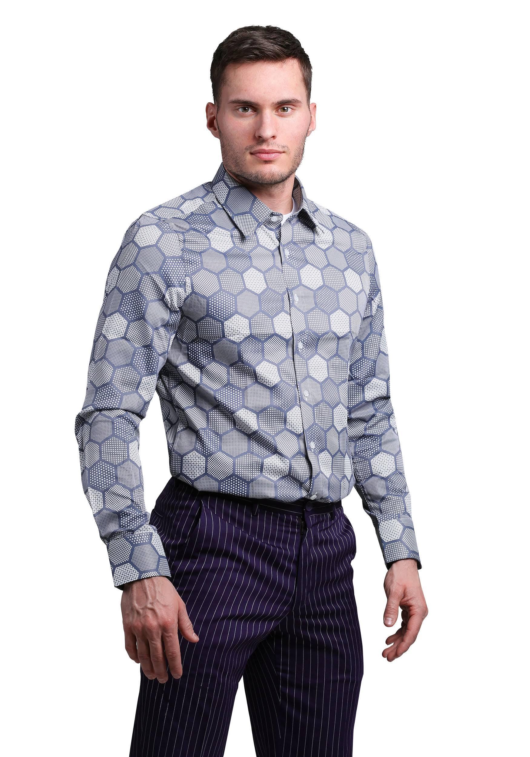 Fit Slim Joker Camisa auténtico Vestir De The qcUayfPwEf