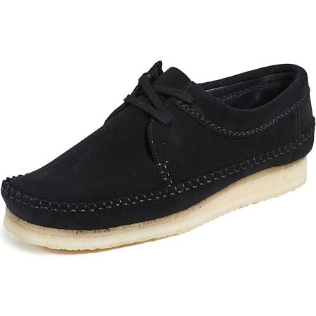 Shoes 13 Black Weaver Clarks Suede 4XgZZq