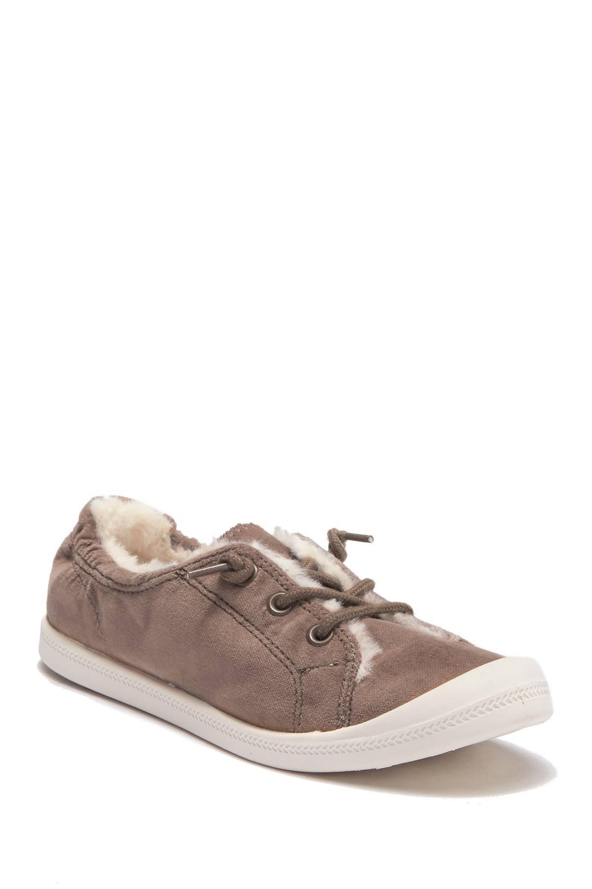 Rackdamesschoenen sneakers Top Velv Girl Nordstrom Brette 5m bij Low gevoerde sneaker nepbont Madden Taupe 8XnZOPNw0k
