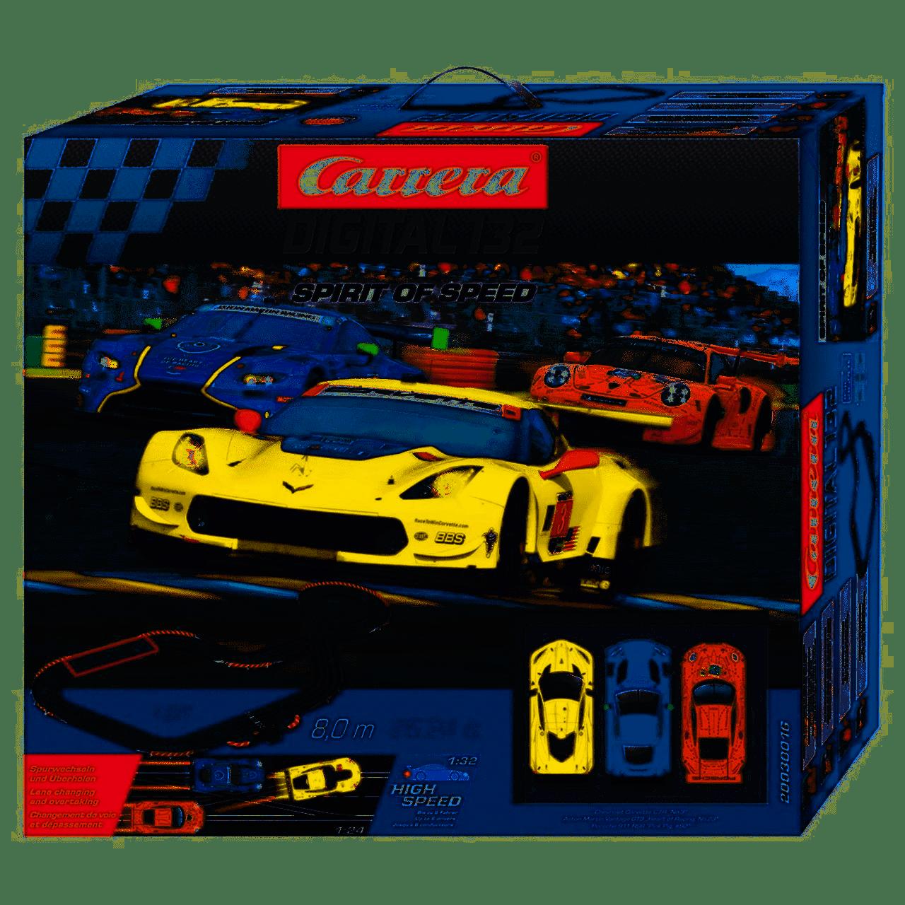 Carrera Autorennbahn Digital 132 Spirit of Speed
