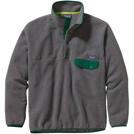Pullover Men's By Synchilla Patagonia Nickel Snap t Hunter Green aqZwv7