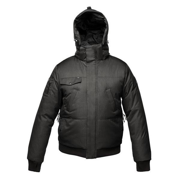small Cazadora De Nobis Hombre Peso Medio Black crosshatch Black Stanford Bomber Crosshatch TTrBqAp