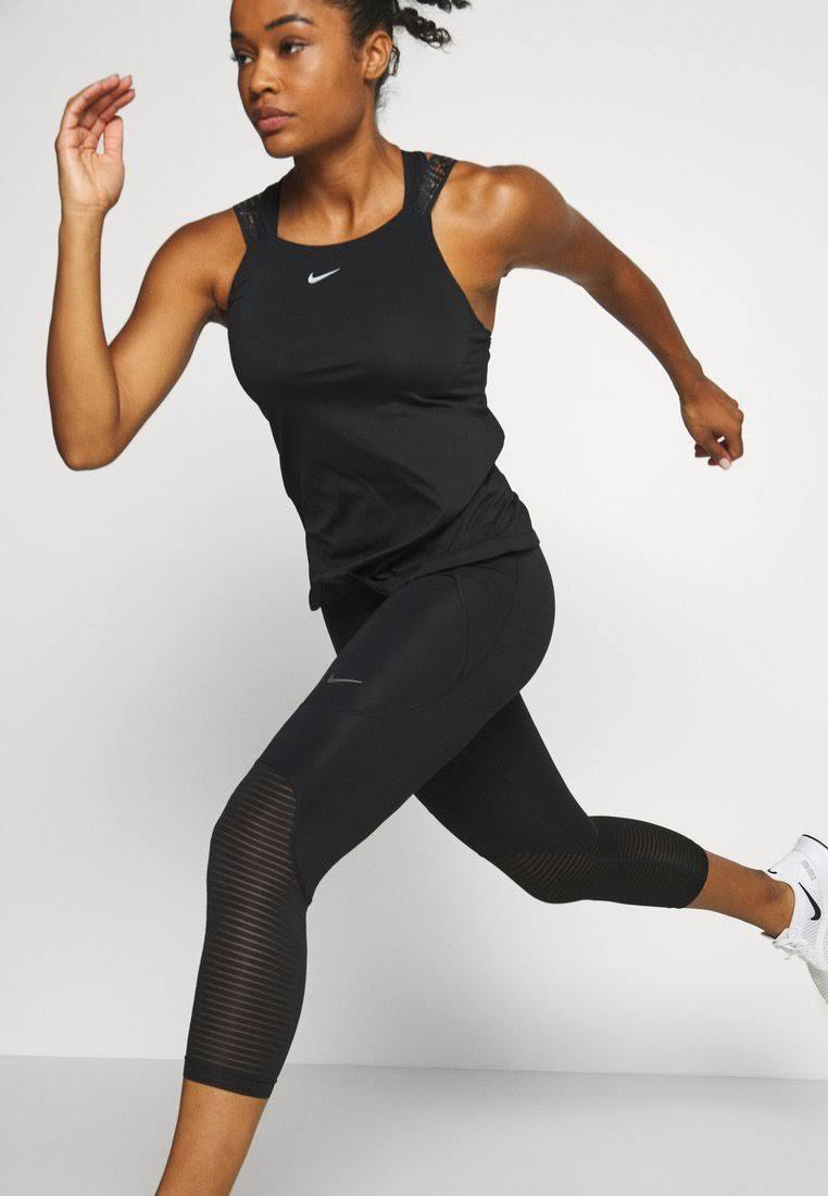 Nike Pro Women's Crops - Black