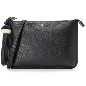 Tory Burch Tassel Crossbody Handbag ( Black or Oceano)